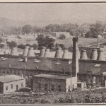J.B. Owens Pottery Company as it appeared around 1907.